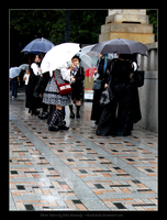 Harajuku - On a Rainy Day by rikachu426