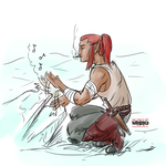 Ice Drums by MagusFerox