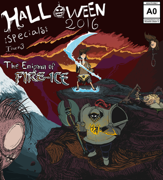 Halloween Specials #3 Scrap and Topheavy by JacketRockArt