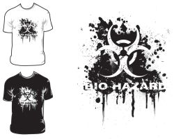 Bio Hazard t-shirt by DesertViper