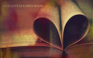 Our Love Is A Open Book by mindym306