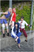 Naruto Grils by Naricie