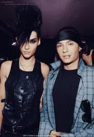Kaulitz twins colorize by larkys
