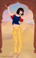 Indian Dancer Snow White by M-Mannering