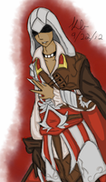 Ezio Auditore de Firenze by CrystleIceFire