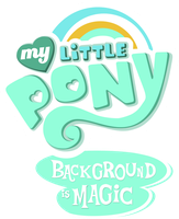 My Little Pony: Background is Magic (the title) by greendwarf333