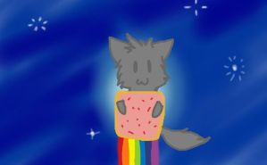 Chibi Nyan Cat by RinaTheKitty