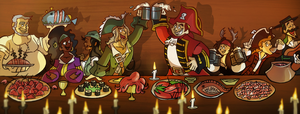 .: Collab:  The Feast :. by PirateHearts