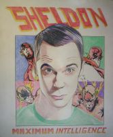 Sheldon Cooper by professorwagstaff