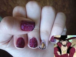Mihawk Nails by Camilicks