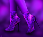 Space shoes by O--V