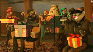 [SFM] Happy Holiday by TFC627