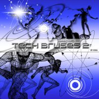 Tech brushes 2 by Flina-Stock