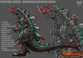 NAGORAIAR's design by GARAYANN