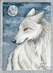 ACEO birddragon by Woodswallow