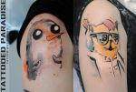 adventure time tattoo by dopeindulgence