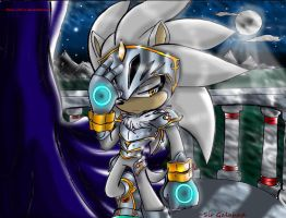 ~Sir Galahad (silver the hedgehog) by Reina-wOlf