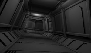 Spaceship Interior WIP by mhofever