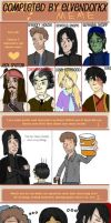 Character Obsession Meme by Elvendorkx