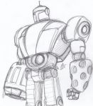 Morbot sketch by ConstantM0tion