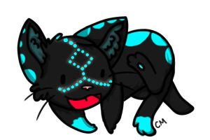 Random Kitty Design -Color-In- by xXxAbyssQueenxXx