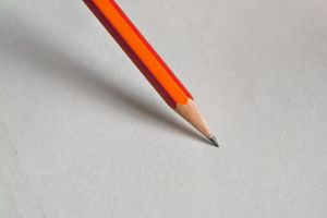 Wood pencil on white paper II. by GranthWeb