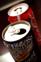 schweppes and coke by artddicted