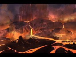 Lava speedpaint by APetruk