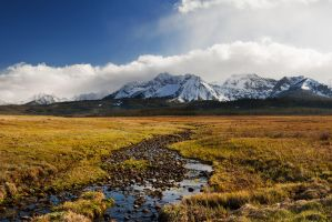 Sawtooth Mountains by ShamelessRain