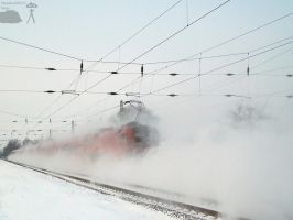 Railjet in snow - 2010 by morpheus880223