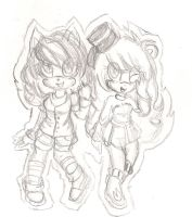 Sofy and Melky by C-ELF