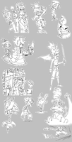 More characters by Jumpei