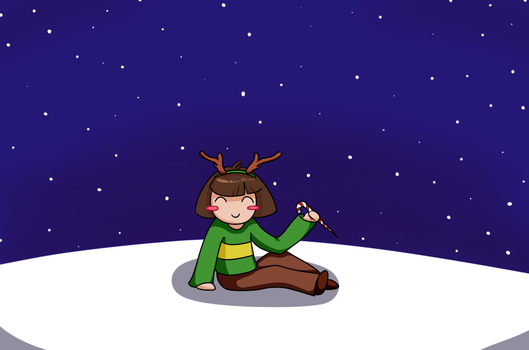 Christmas Chara by shadow21812