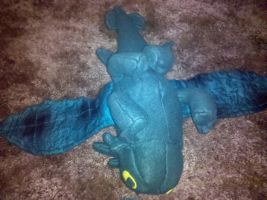 Underside of Toothless Plush by SillyMigol
