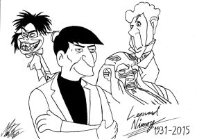 My tribute to Leonard Nimoy by MortenEng21