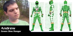 Parasaur Power, Green Ranger! by Andruril93
