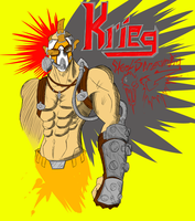 Krieg the Psycho by PROtypeM3X