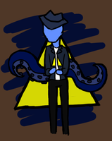 Triangle, Tentacles, Trilby by Revolution-Nein