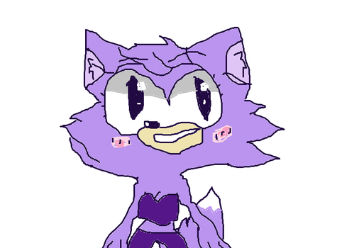 Kavvie The Wolf (Sonic OC) by superspeakers92