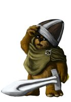 WIP: Ewok Cosplayer as Viking by Callego