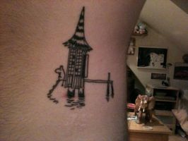 4th Moomin Tattoo by Kiwikku