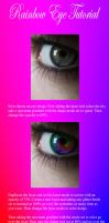 Rainbow Eye Tutorial by Kizuna-chan