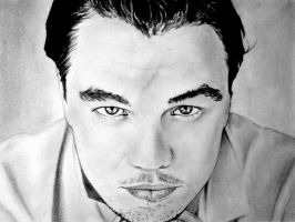 Leonardo Dicaprio-closer look by HoustonTxArtist