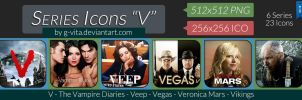 TV Series Icons V by g-Vita