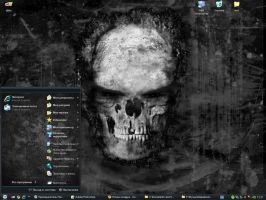 "theme "" Dark "" For Windows Xp by tochpcru"