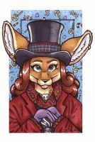 Willy Proudfoot by foxyfennec