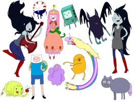 Adventure Time Drop by Digiko