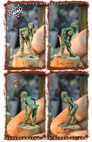 Linewoman of Blood Bowl Amazon team WILLYminiature by RU-MOR