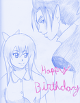 Happy Birthday Ari! by Miyori999
