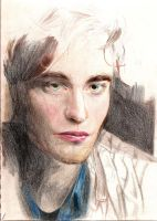 Robert Pattinson Traditional by Zink10